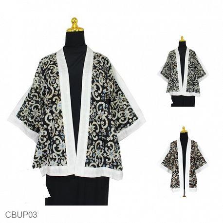 Kimono Batik Motif Cumi Cumi