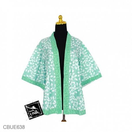 Kimono Luna Motif Krokot Kawung