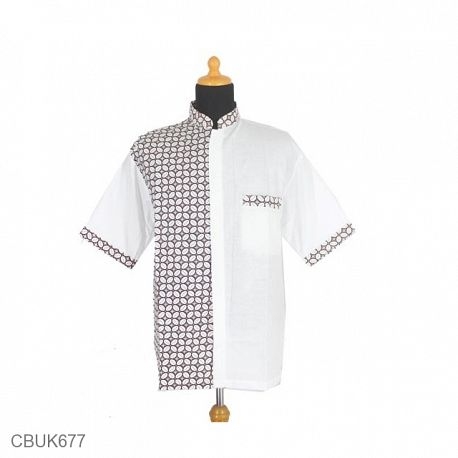 Koko Batik Katun Motif Kawung Titik