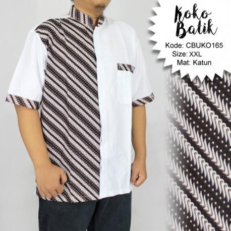 Koko Batik Katun Motif Parang Pancing XXL