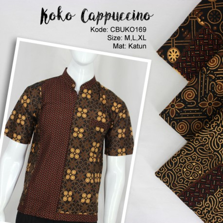 Koko Batik Katun Motif Cappoccino