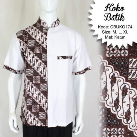 Koko Batik Katun Motif Jagad
