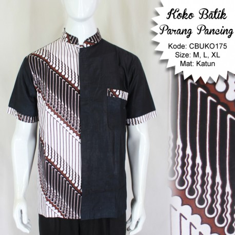 Koko Batik Katun Motif Parang Pancing
