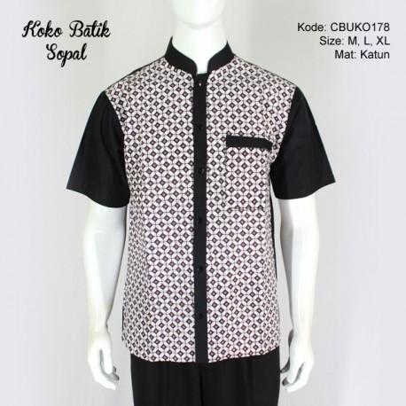 Koko Batik Katun Motif Kombinasi