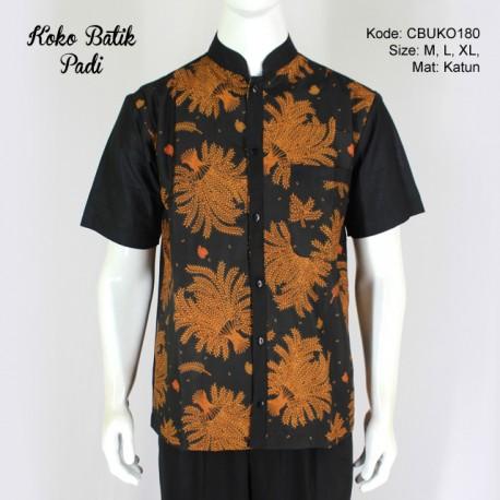 Koko Batik Katun Motif Padi