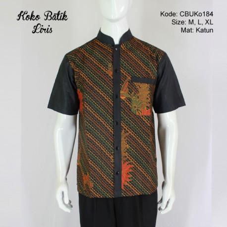 Koko Batik Katun Motif Liris