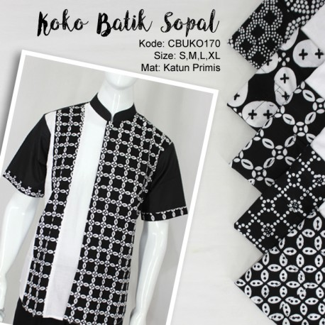 Koko Batik Sopal Klasik