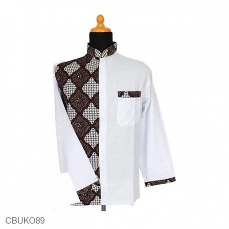 Koko Panjang Batik Motif Tampal Kanoman