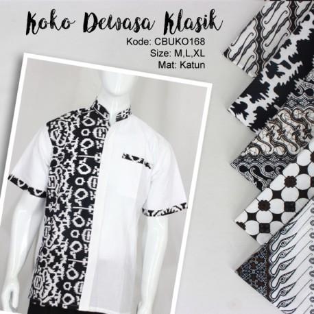 Koko Pendek Batik Motif Klasik