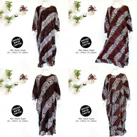 Longdress Lowo Batik Sogan Cantik