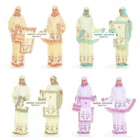 Mukena Batik Exclusive Rayon Super No 1 Motif Krokot