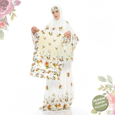 Mukena Batik Exclusive Rayon Super No 1 Motif Mawar