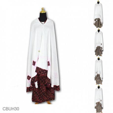 Mukena Batik Motif Ceplok Obar Abir