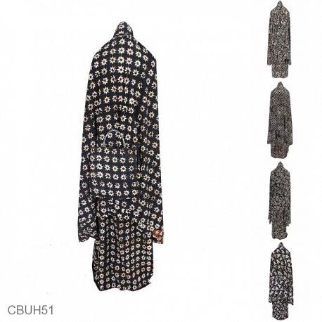 Mukena Batik Motif Sogan Batangan