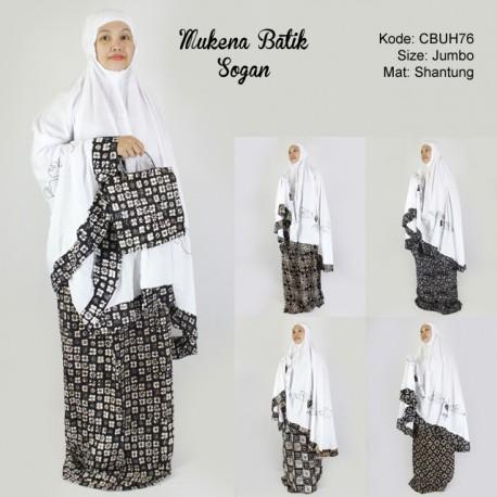 Mukena Batik Motif Sogan