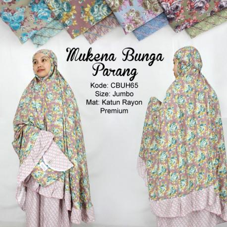 Mukena Rayon Bunga Parang