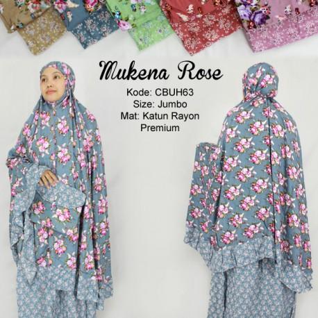 Mukena Rayon Rose