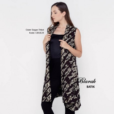 Outer Batik Sogan Lapis Trikot