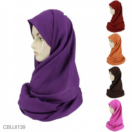 Pashmina Wide Size Besar Polos