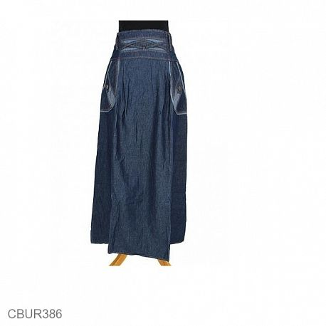 Rok Jeans Hasna Vines Jeans Gelap