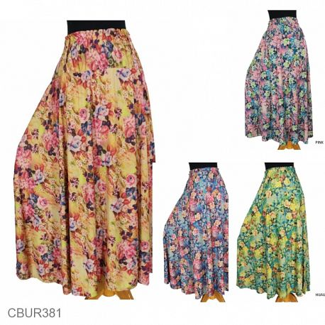 Rok Jersey Bunga Vintage Feni