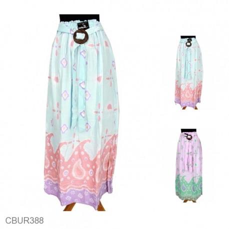 Rok Panjang Batik Santhung Motif Jumput Amuba