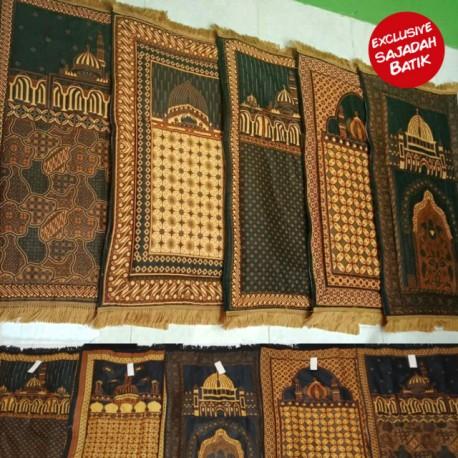 Sajadah Batik Etnik Exclusive Empuk
