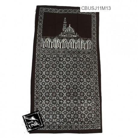 Sajadah Batik Katun Motif Ceplok Warna