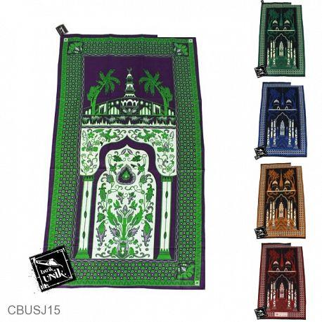 Sajadah Batik Motif Kawung