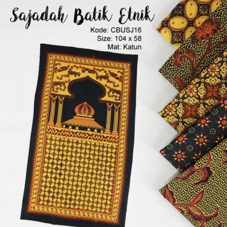 Sajadah Batik Motif Etnik
