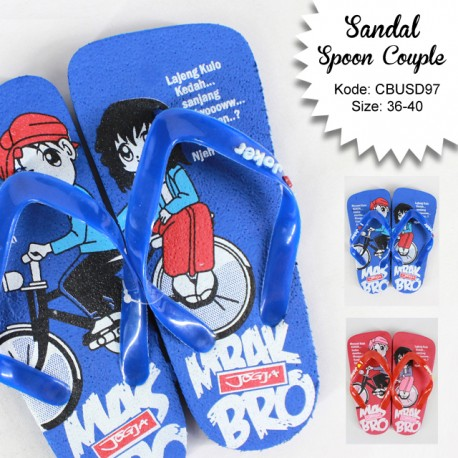 Sandal Spoon Coupple Mba Bro