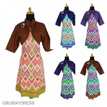 Sarimbit Dress Motif Rang Rang Krokot
