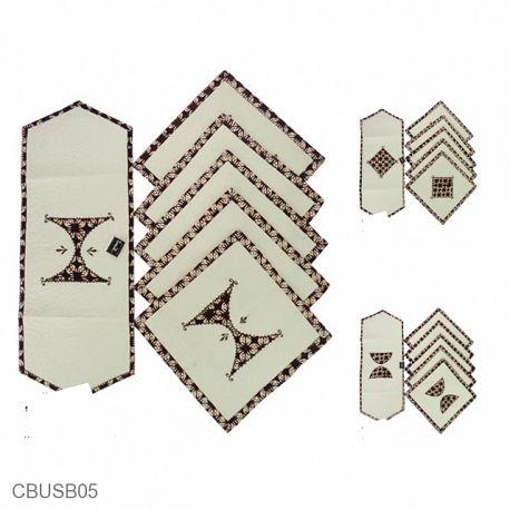 Sarung Bantal Kursi Batik Blaco Motif Klasik Bordir