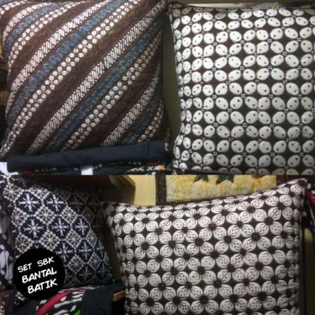 Sarung Bantal Lantai Batik Sogan