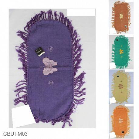 Taplak Meja Tamu Batik Motif Kupu