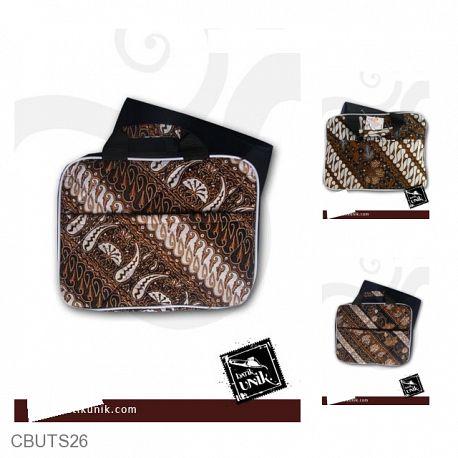 Tas Batik Laptop Motif Batik Kontemporer 10 inchi