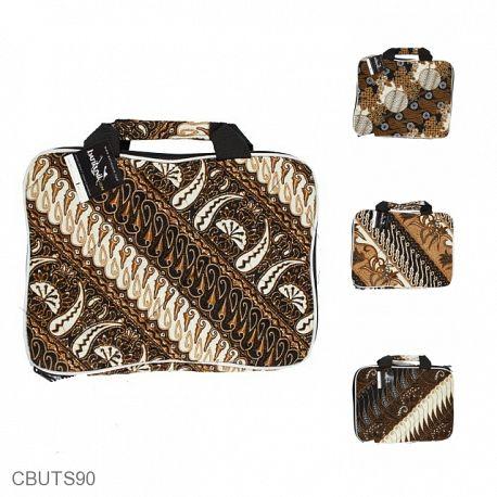 Tas Batik Laptop Motif Batik Kontemporer Jawa 12 Inchi