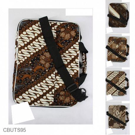 Tas Batik Laptop Motif Batik Kontemporer Jawa 14 Inchi