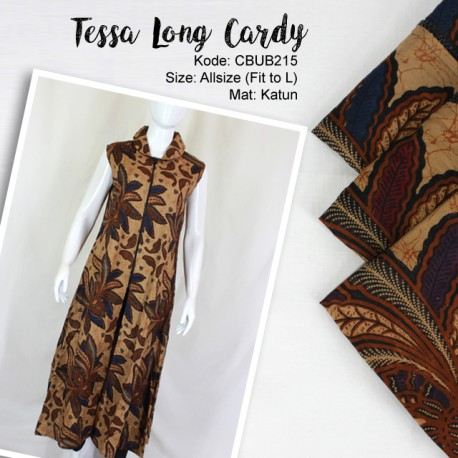 Tessa Long Cardy Motif Padi