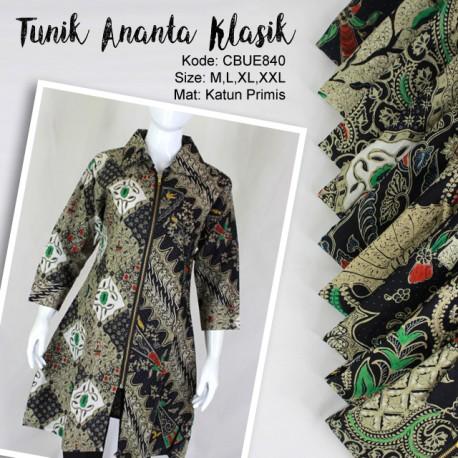Tunik Ananta Retlesting Motif Klasik