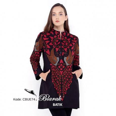 Tunik Batik Blarak AHY 2 Merah
