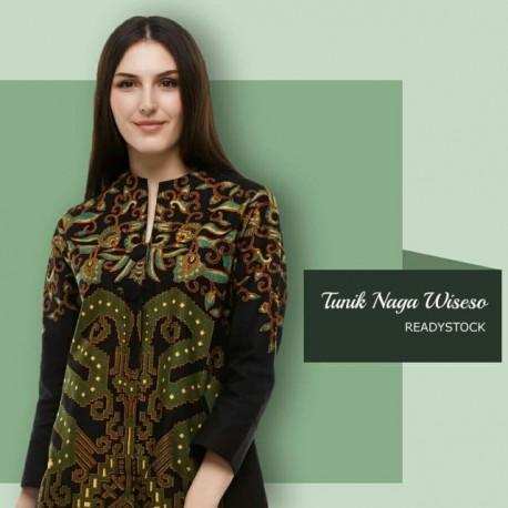 Tunik Batik Blarak Motif Nogo Wiseso
