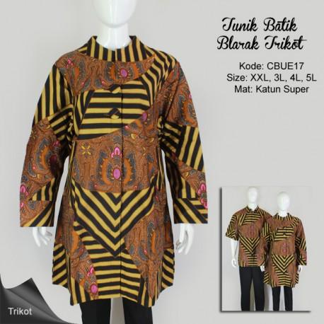 Tunik Batik Lengan Panjang Trikot Blarak 0145