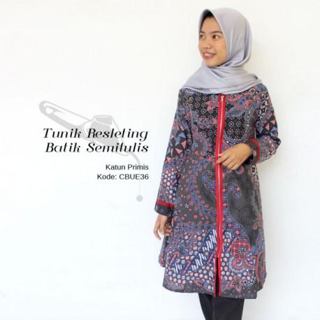 Tunik Batik Semitulis Katun Halus