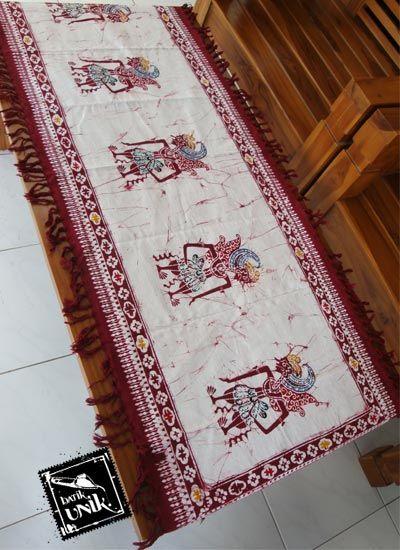 Taplak Meja Tamu Batik Cap Semi Tulis Sold Out