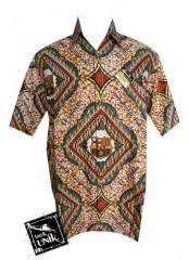 Baju Kemeja Batik Bola Motif Barcelona PROMO
