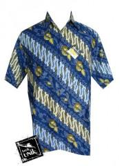 Baju Kemeja Batik Bola Motif Real Madrid PROMO