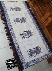 Taplak Meja Tamu Batik Cap Semi Tulis