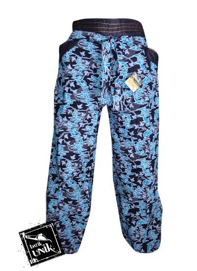Celana Batik Panjang Motif Batik Etnik