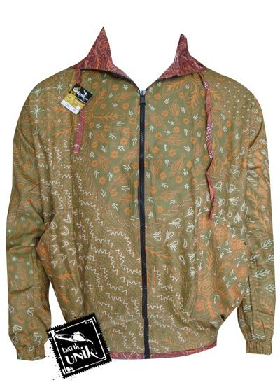 Jaket Batik Back And Forth Motif Bunga Semi